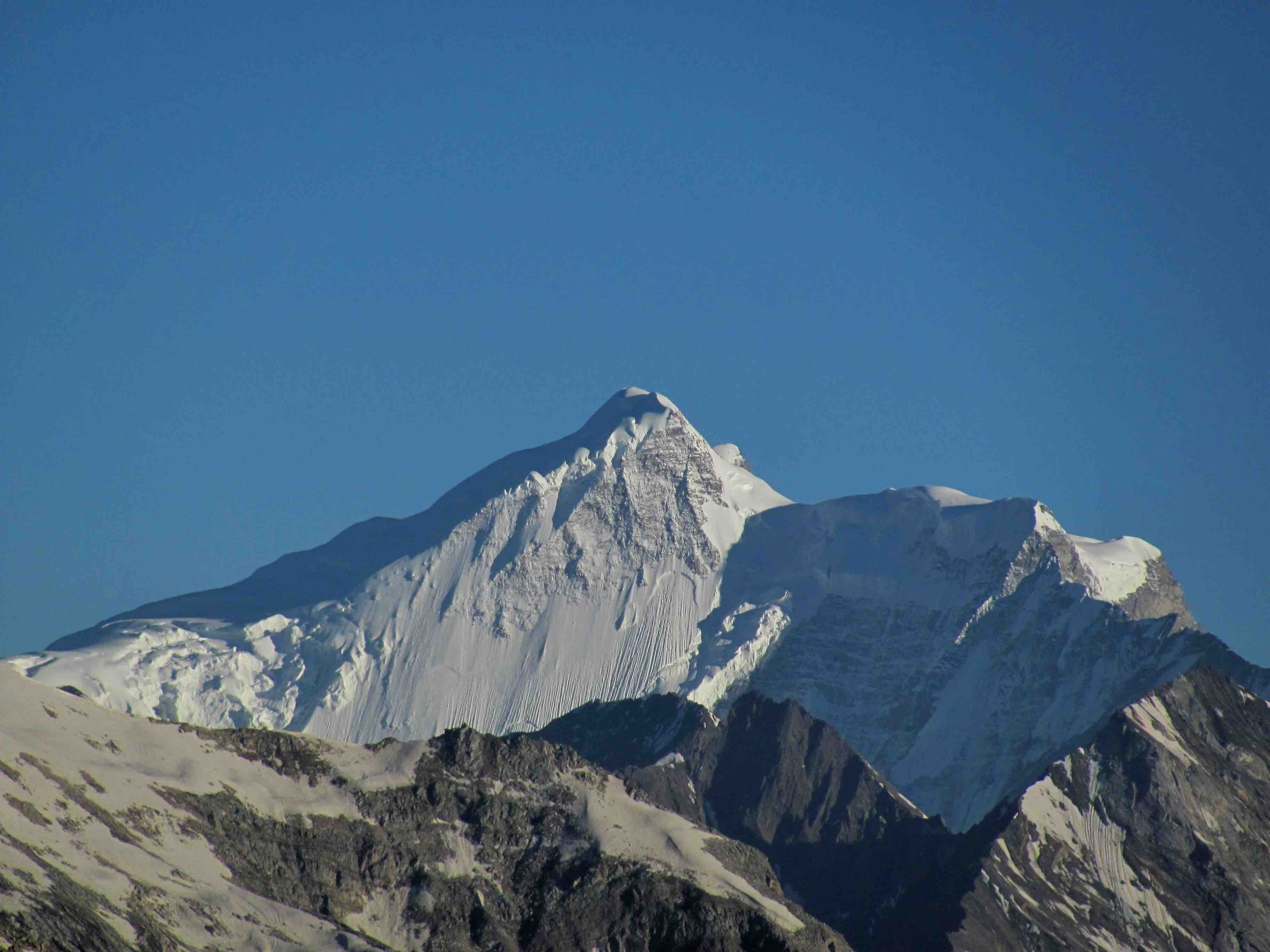 Menthosa peak NW face as seen from Mt Shiva